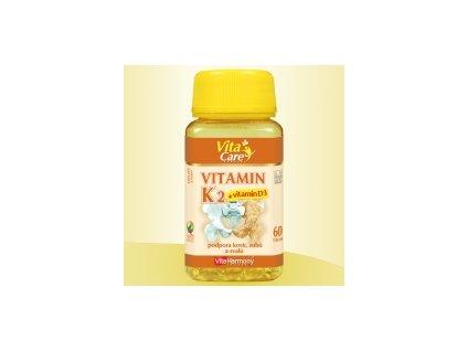 Vitamín K 2 +vit. D 3 60 tob.