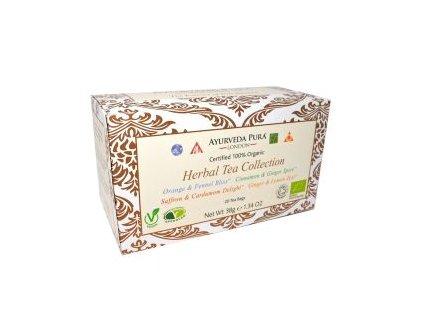 Čaj Ayurveda Pura Herbal Collection 38g (20 sáčků)