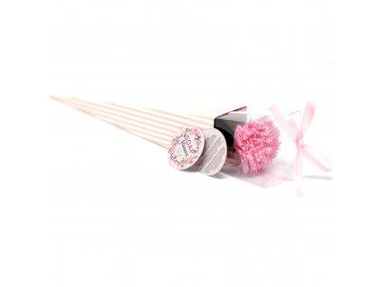 Mýdlové květy karafiát 1ks
