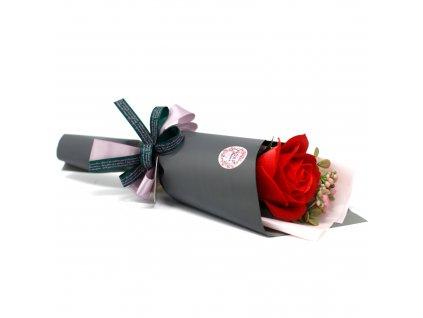 Mýdlové květy růže pugét 1ks