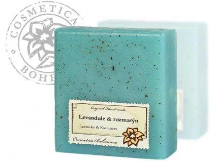 Mýdlo glycerinové LEVANDULE 105g