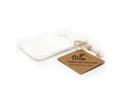 Přírodní pytlík na mýdlo - Bambus 1 ks