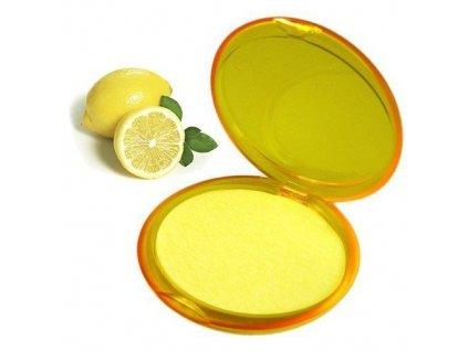 Papírové mýdlo  Citron 20 plátků