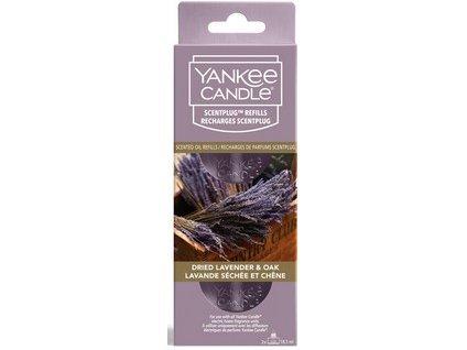 Yankee candle Dried lavender Oak náhradní náplň do elektrické zásuvky 2 ks