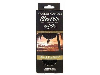 Yankee candle Black coconut náhradní náplň do elektrické zásuvky 2 ks