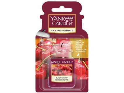 Yankee Candle Black cherry luxusní gelová visačka  1 ks