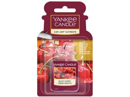 Yankee Candle Black cherry vonný klip do ventilace  1 ks