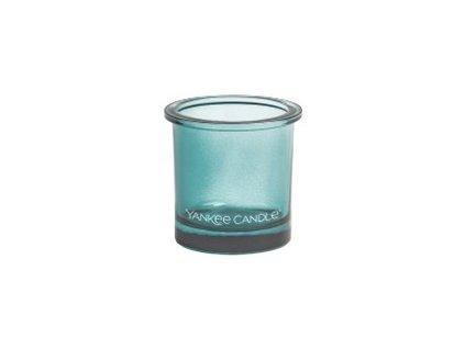 Yankee Candle svícen na votivní svíčku TEAL  1 ks