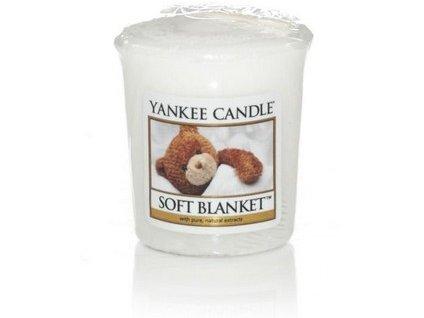 VONNÁ SVÍČKA Yankee Candle votivní svíčka Soft Blanket 49 g