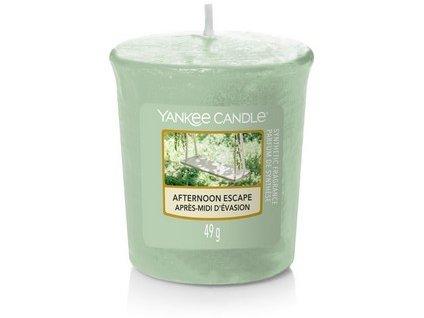 VONNÁ SVIČKA Yankee Candle votivní svíčka Afternoon escape 49 g