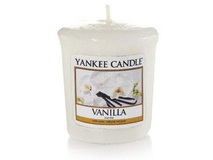 VONNÁ SVÍČKA Yankee Candle votivní svíčka Vanilla 49 g