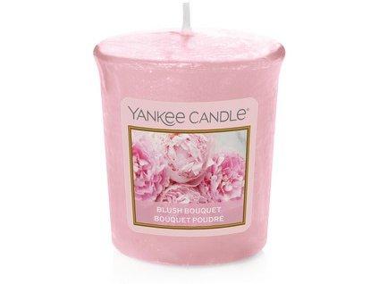 VONNÁ SVÍČKA Yankee Candle votivní svíčka Blush bouquet 49 g