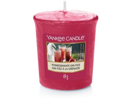 Yankee Candle votivní svíčka Pomegranate gin fizz  49 g