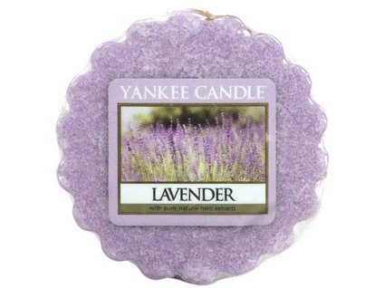 Yankee Candle vosk do aromalampy LAVENDER 22 g