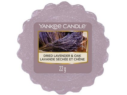 Yankee Candle vosk do aromalampy DRIED LAVENDER OAK 22 g