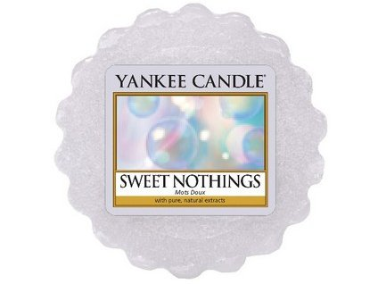 Yankee Candle vosk do aromalampy SWEET NOTHINGS  22 g