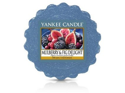 Yankee Candle vosk do aromalampy MULBERRY FIG DELIGHT  22 g