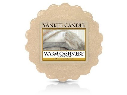 Yankee Candle vosk do aromalampy WARM CASHMERE  22 g