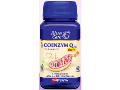 Coenzym Q10 Forte (30 mg) + Vitamin E (15 mg) - 60 tbl.