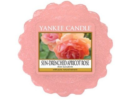 Yankee Candle vosk do aromalampy SUN- DRENCHED APRICOT ROSE 22 g