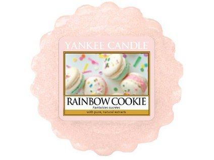 Yankee Candle vosk do aromalampy RAINBOW COOKIE  22 g