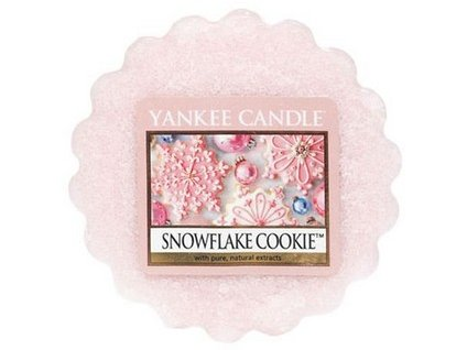 Yankee Candle vosk do aromalampy SNOWFLAKE COOKIE 22 g