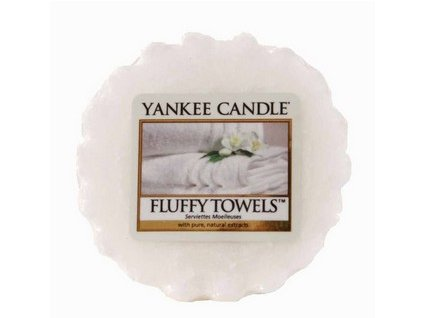 Yankee Candle vosk do aromalampy FLUFFY TOWELS  22 g