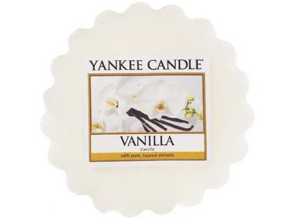 Yankee Candle vosk do aromalampy VANILLA 22 g