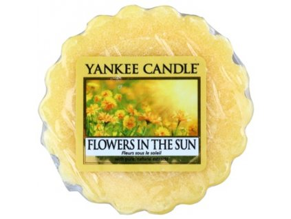 yankee candle flowers in the sun wax melt