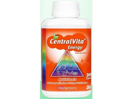 XXL balení - CentralVita Energy® multivitaminy pro dospělé 300 tbl.