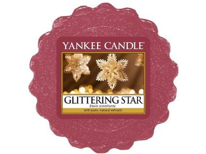 Yankee Candle vosk do aromalampy GLITTERING STAR 22 g