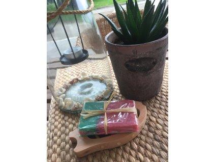 Olivové mýdlo krájené Meloun 1 ks