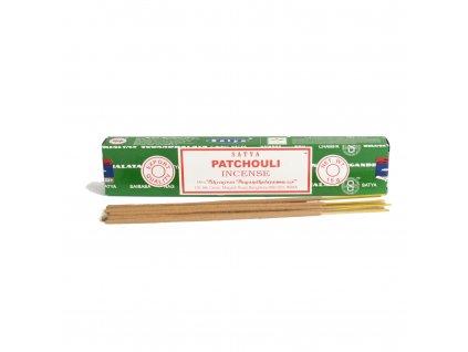 Vonné tyčinky Satya Patchouli 15 g