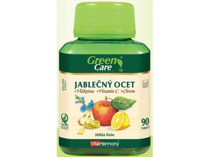 Jablečný ocet + Vláknina + Vitamin C + Chróm 90 tbl.