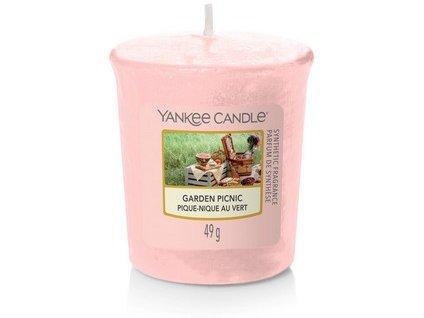VONNÁ SVÍČKA Yankee Candle votivní svíčka Garden picnic 49 g