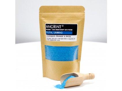 Aromaterapeutická sůl do koupele - Úplné uvolnění 350 g