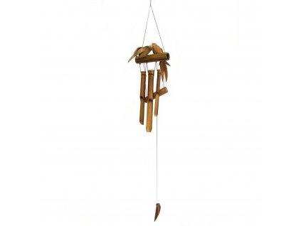 Kokosová zvonkohra Ptáci 1 ks