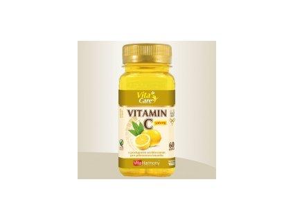 Vitamin C 500 mg s postupným uvolňováním - 60 cps.