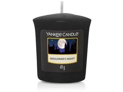 VONNÁ SVÍČKA Yankee Candle votivní svíčka Midsummer's night 49 g