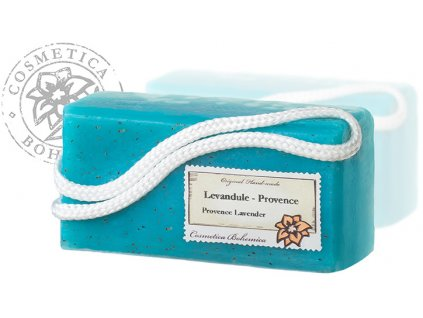 Mýdlo glycerinové závěsné LEVANDULE 200g