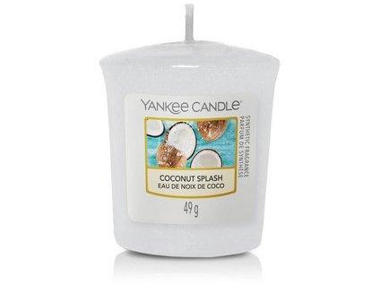 VONNÁ SVÍČKA Yankee Candle votivní svíčka Coconut splash 49 g