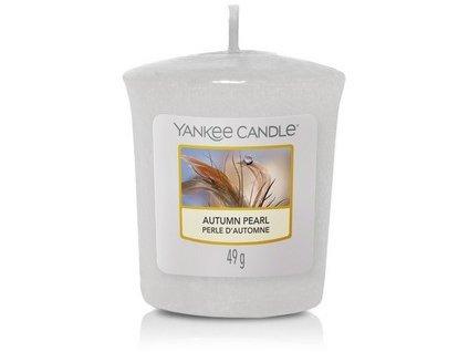 VONNÁ SVÍČKA Yankee Candle votivní svíčka Autumn pearl 49 g
