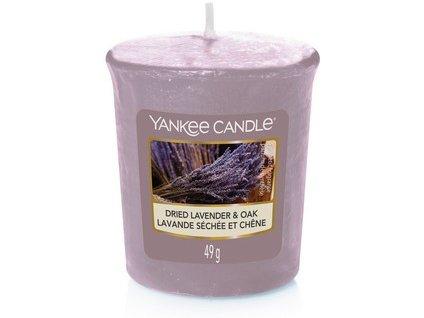 VONNÁ SVÍČKA Yankee Candle votivní svíčka Dread lavender oak 49 g