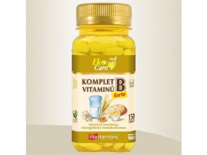 Komplet vitaminů B forte, 150 tbl.