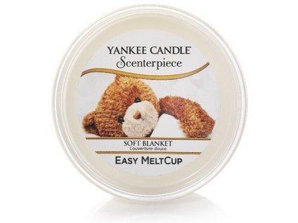 Yankee Candle vosk do el. lampy SOFT BLANKET 61g