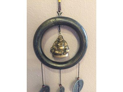 Zvonkohra zvonky štěstí Buddha 45 cm