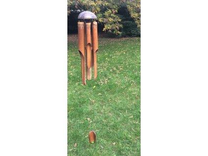 Bambusová Zvonkohra 6 trubic