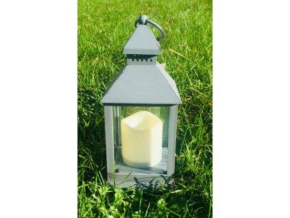 Lucerna se svíčkou  1 ks