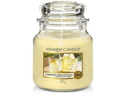 VONNÁ SVÍČKA Yankee Candle Homemade Herb Lemonade 411g