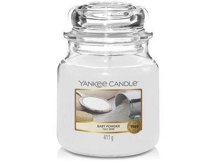 VONNÁ SVÍČKA Yankee Candle Baby Powder 411g